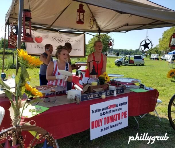 Holy Tomato Pie at Tomato Fest