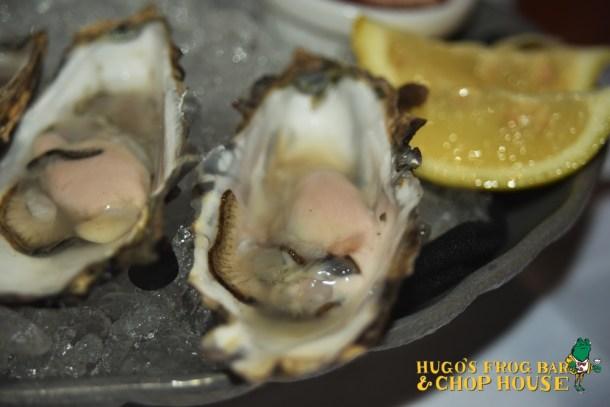 Oysters on the Half Shell at Hugo's Frog Bar & Chop House Philadelphia