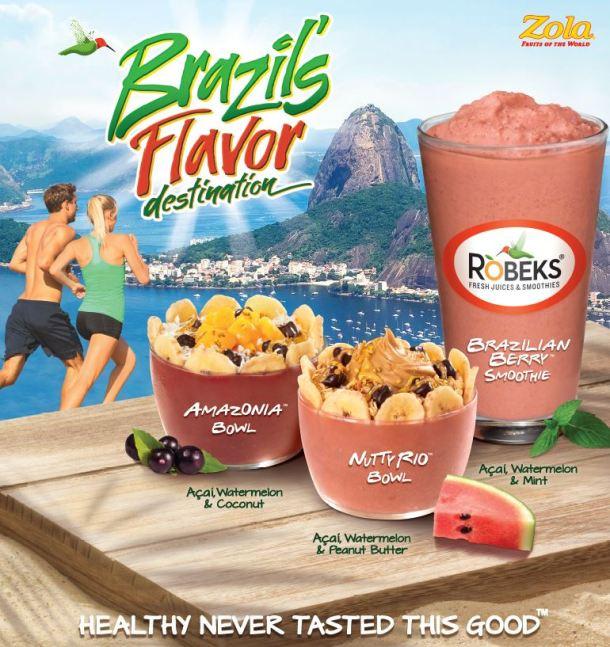 Robeks Brazil Flavor
