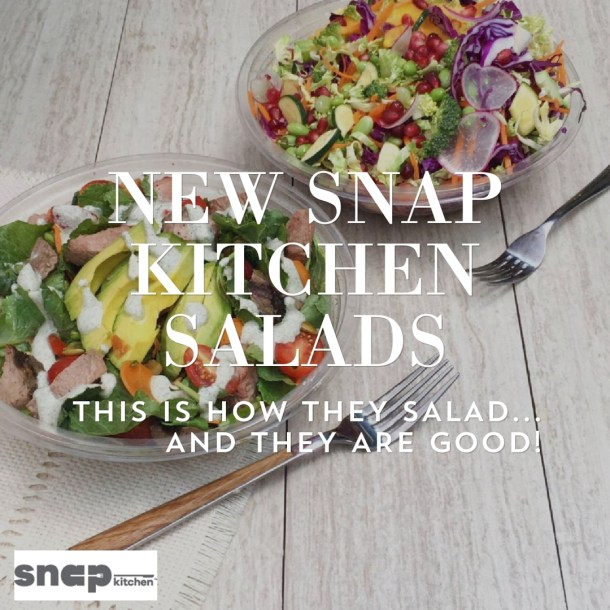 Snap Kitchen Salads 2016