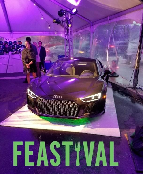 Audi R8 V-10 at FEASTIVAL