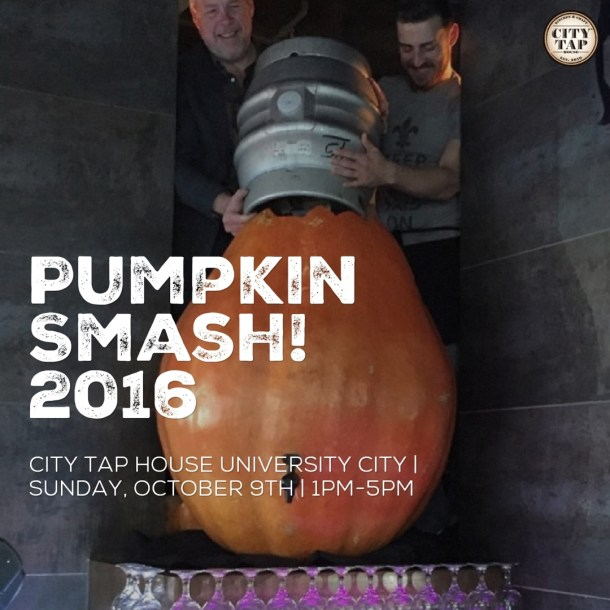 City Tap House University City Pumpkin Smash 2016