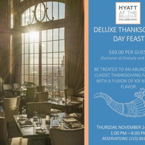 Deluxe Thanksgiving Day Feast at Hyatt at The Bellevue