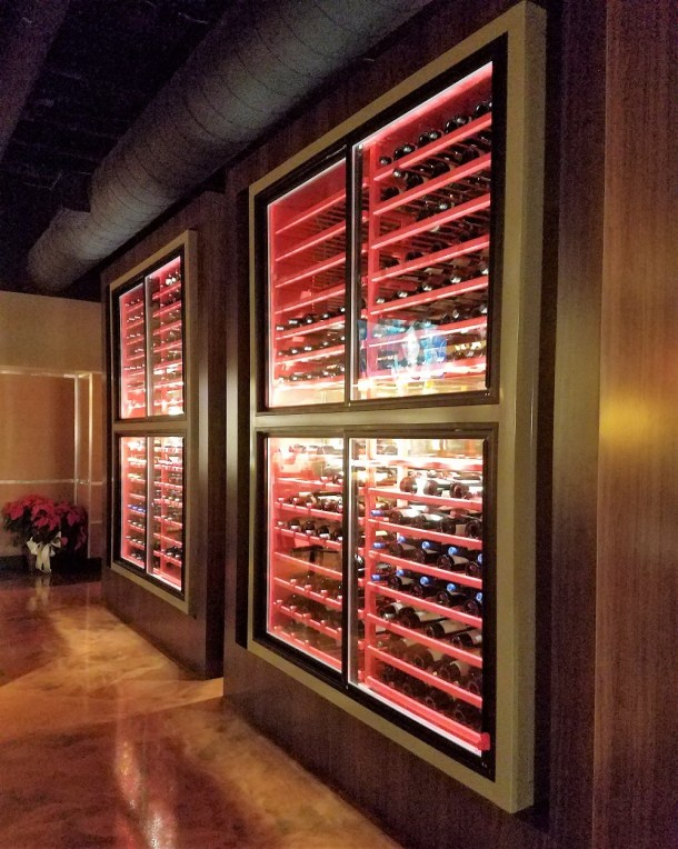 Catelli Duo Moorestown Wall of Wine
