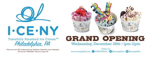 ICE NY Philly Grand Opening