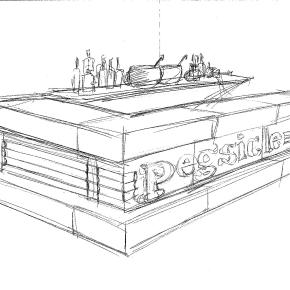A Hand-Carved Ice Bar by Chef Peter Woolsey Will Debut at La Peg