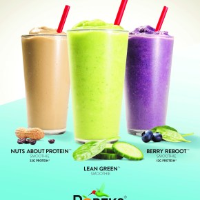 Skinny Grub: Fitness Resolution Smoothies™ at Robek's