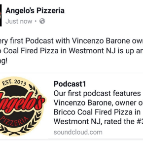 Danny DiGiampietro of Angelo's Pizzeria Launches Podcast, Breaking Bread with Angelo's