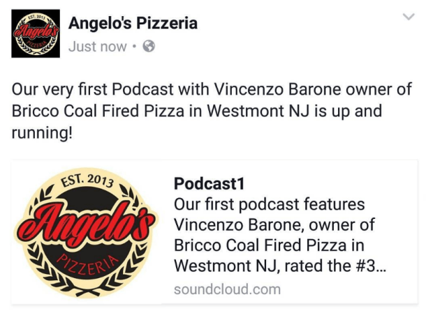 Angelo's Pizzeria Breaking Bread with Angelo's Podcast