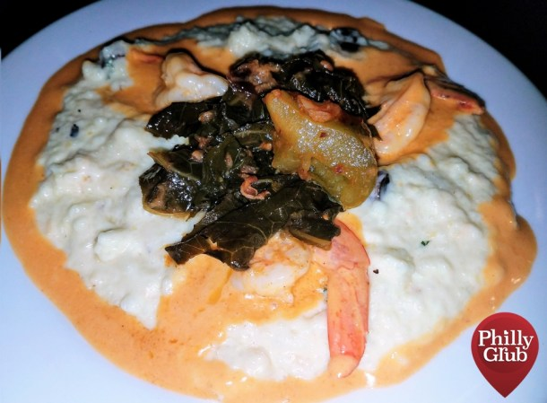 Catahoula Philly Shrimp & Grits