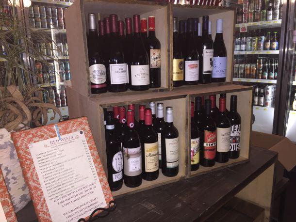 Free Wine at Hawthornes Cafe