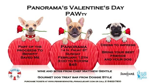 Panorama Valentine's Day PAWty