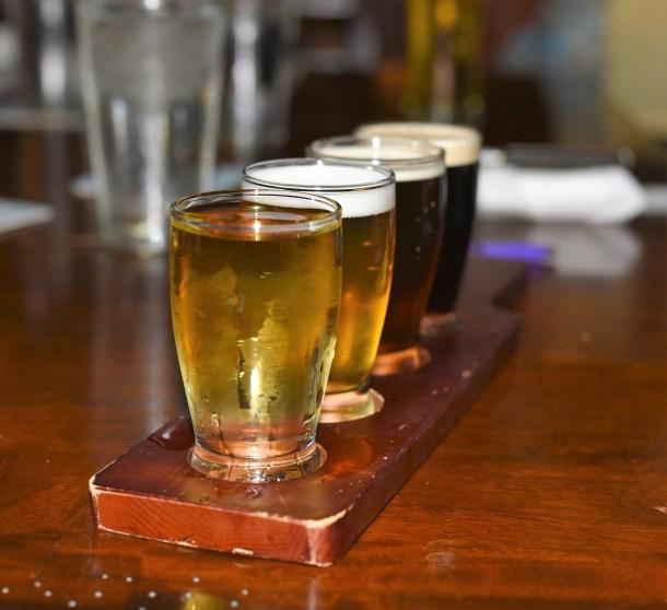 Beer Flight at IceHouse Pub in Punta Gorda FL