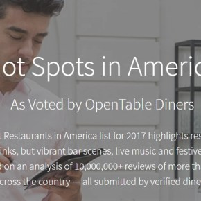 Two Philadelphia Restaurants on OpenTable's Top 100 Hot Spots in America