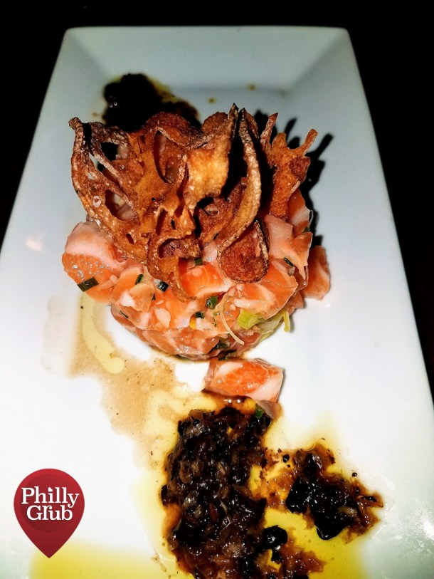 Salmon Tartare at Pinefish
