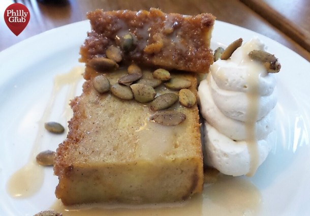 Bread Pudding at Tria Cafe Rittenhouse