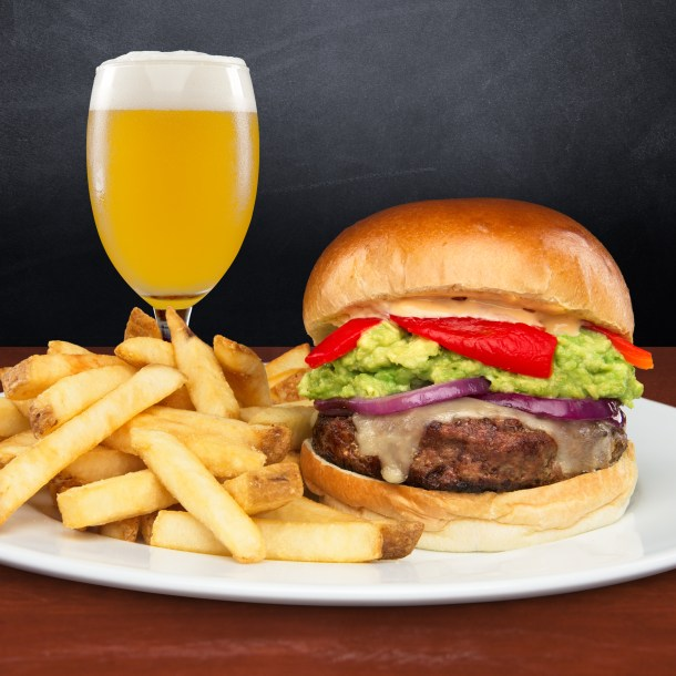 Iron Hill Brewery National Burger Month Menu