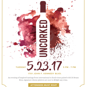 Uncorked: Wine & Cheese Tasting at The Market & Shops at Comcast Center