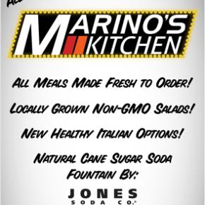 Marino's Bistro To Go is now Marino's Kitchen & New Openings