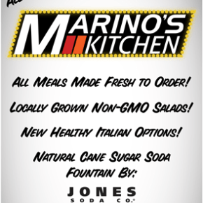 Marino's Bistro To Go is now Marino's Kitchen & New Openings