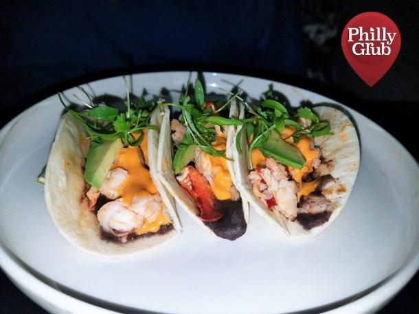 Aqimero Philadelphia Lobster Tacos