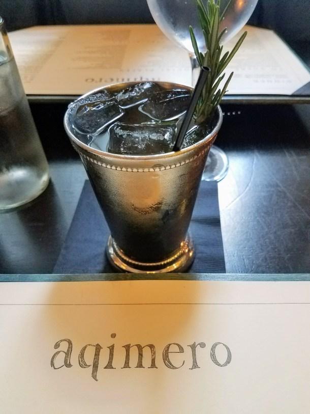 Mexican Mule at Aqimero