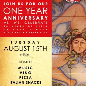 Medusa Pizzeria Celebrates One Year Anniversary in Fishtown