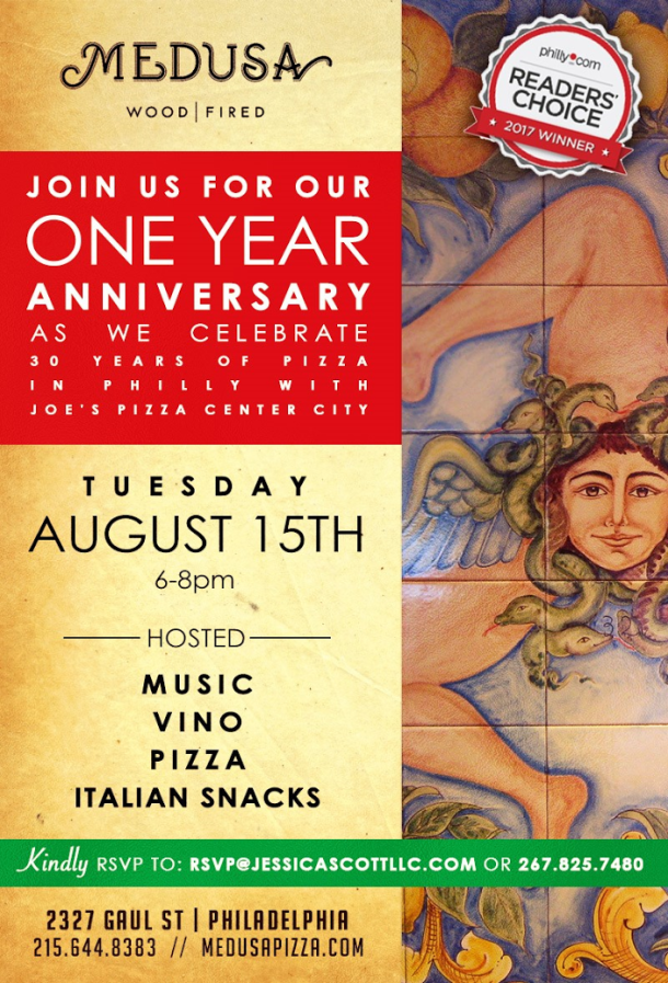 Medusa Anniversary Party