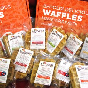 Free Waffatopia Waffles for National Waffle Day on August 24