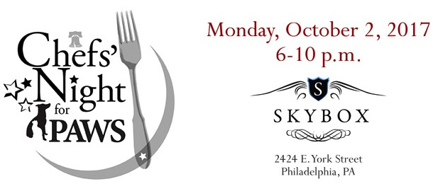 Chef's Night for Philly PAWS 2017