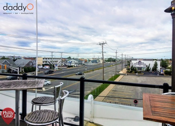 Daddy O LBI Rooftop Bar View