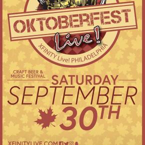 Oktoberfest Live! 2017 this Saturday at XFINITY Live!