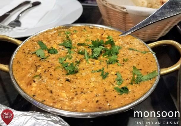 Vegatable Korma at Monsoon Cherry Hill