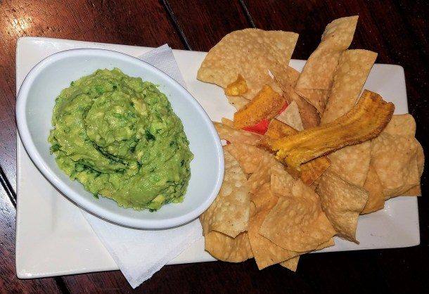 Bahama Breeze Guacamole & Chips