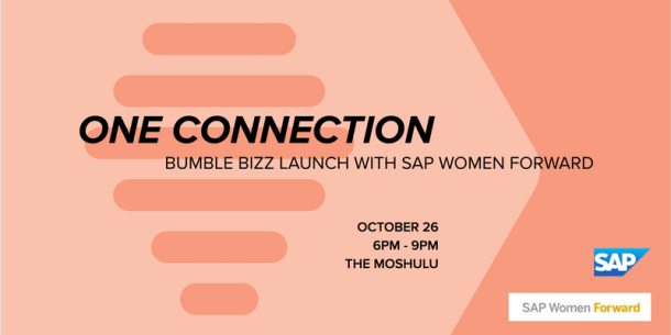 The Deck to Host Launch of Bumble Bizz Dating App - Philly Grub