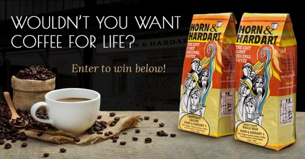 Free Horn & Hardart Coffee For Life!