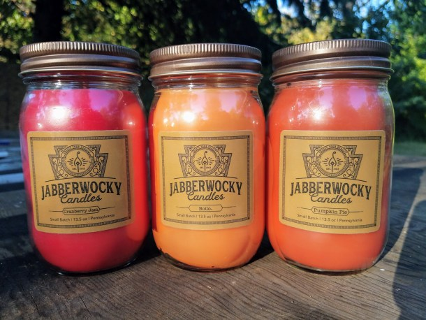 Jabberwocky Candles