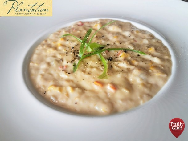 Plantation Restaurant Crab and Corn Chowder