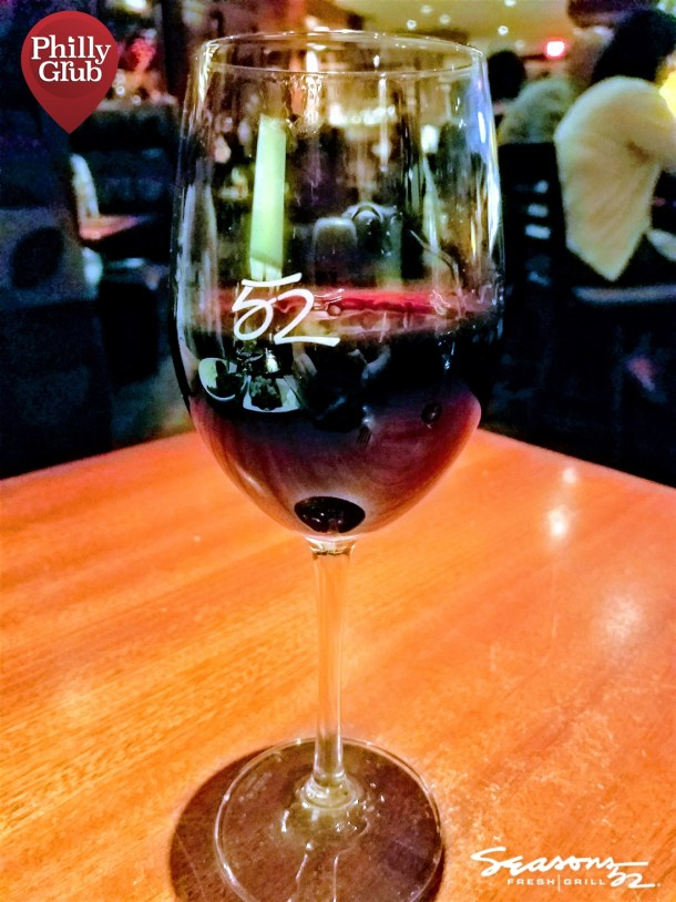 Seasons 52 Cherry Hill Mall Lake Sonoma Cabernet Sauvignon