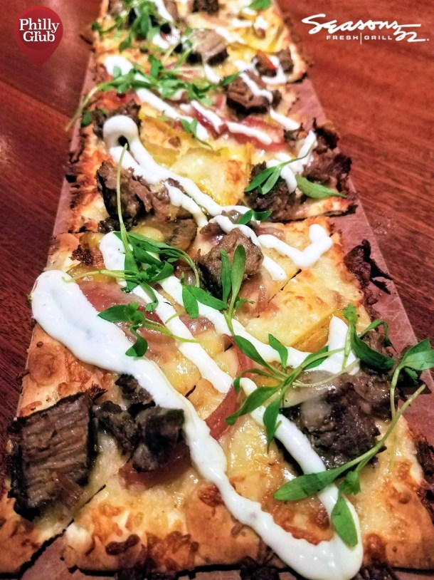 Seasons 52 Cherry Hill Mall Short Rib & Cheddar Flatbread
