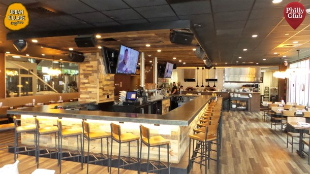 Urban Village Brewing Inside Bar