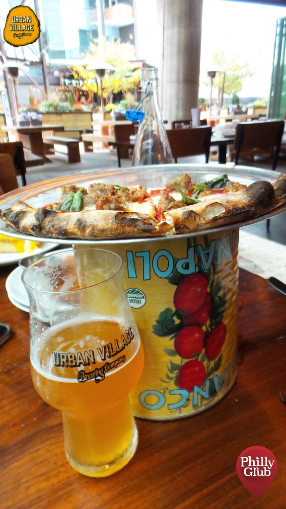 Urban Village Brewing Pizza and Beer