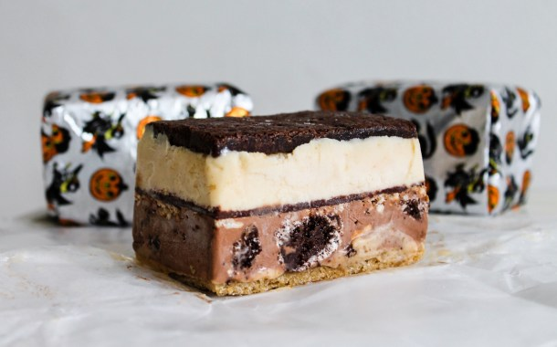 Weckerly's Halloween Ice Cream Sandwich