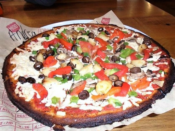 Gluten and Dairy Free Pizza at MOD Pizza Warrington PA
