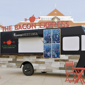 The Bacon Express Food Truck by Applegate is Coming to Dilworth Park's Wintergarden