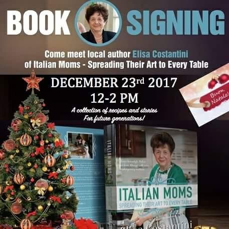 Elisa Constantini Book Signing Fantes