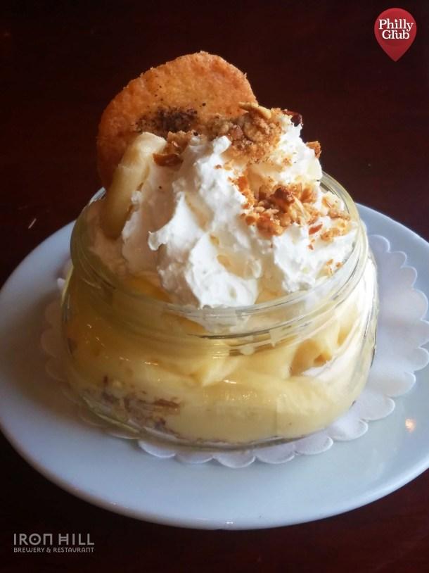 Iron Hill Brewery Banana Cream Pie in a Jar