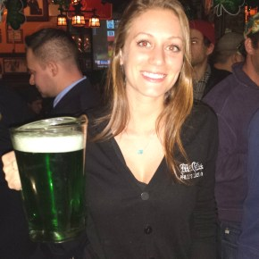 Green Beer & Iggletini at McGillin's Ale House