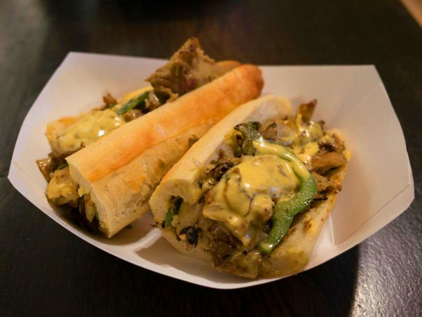Blackbird Vegan Cheesesteak