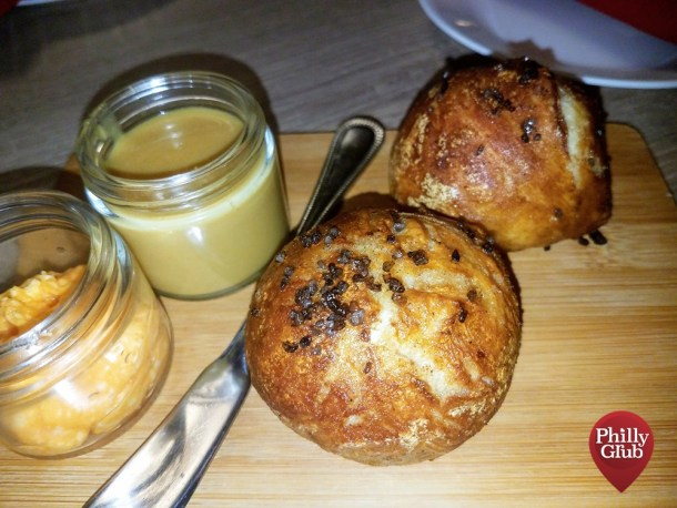 Butter Pretzel Rolls at Farmhouse Cherry Hill